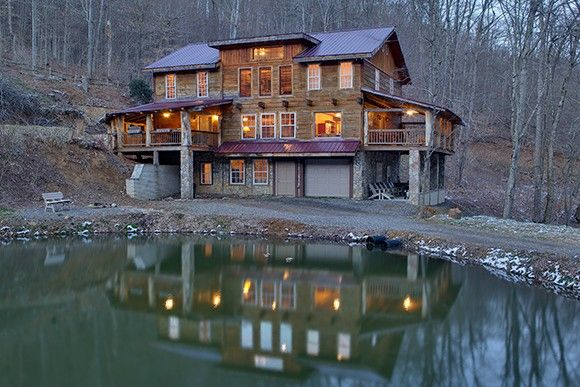 Merveilleux Wolf Laurel Lodge Rental: Large Mountain Cabin, Church Groups, Large Family  Retreat,