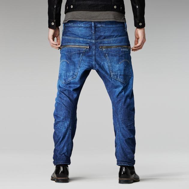 Nw arc zp 3d ltnevis dnmmed ag destry   Jeans, Raw denim, Men