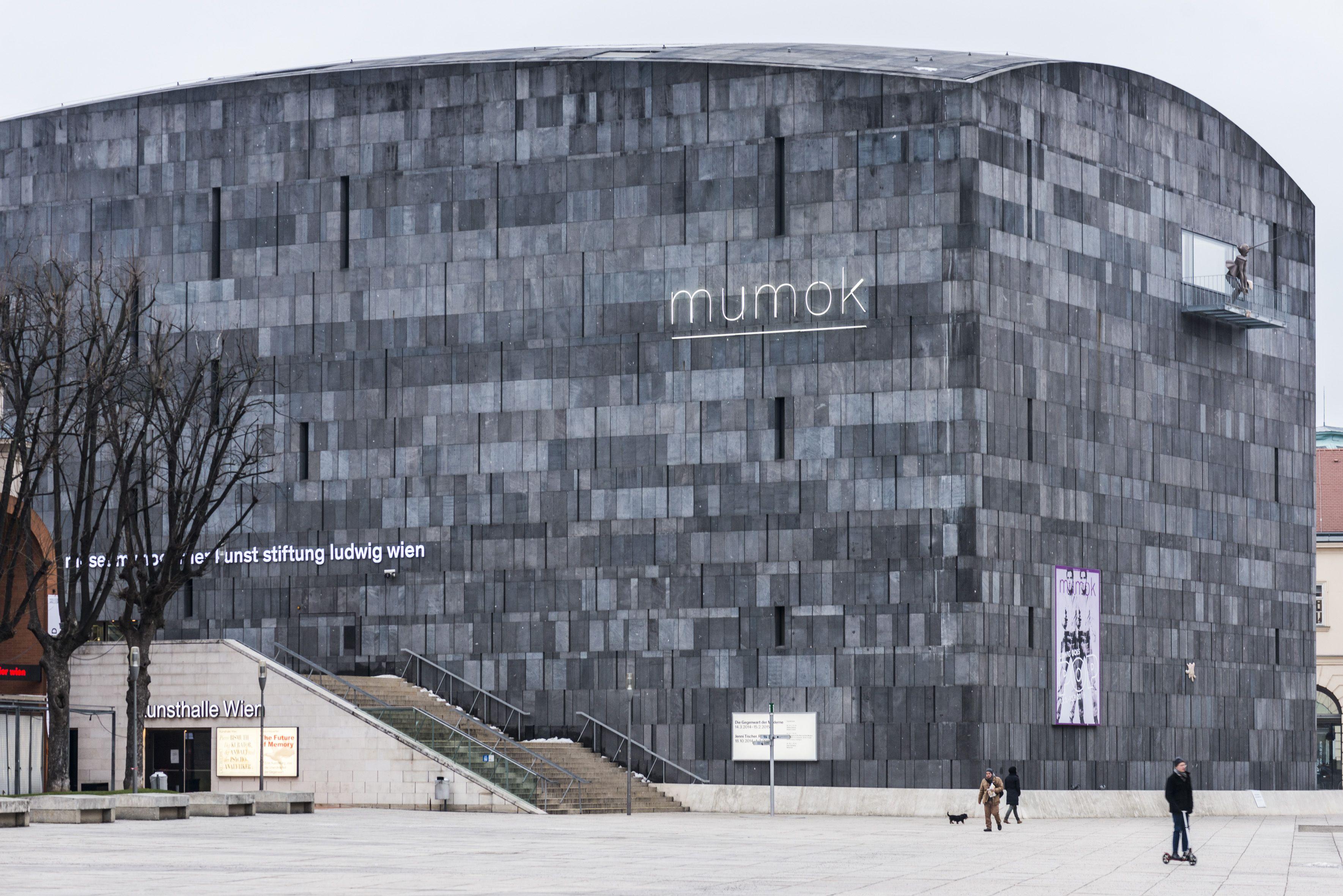 Vienna Austria Mumok Museum Of Modern Art In