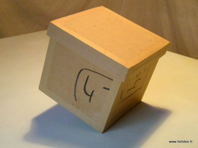 bo te en carton avec couvercle tuto cartonnage loisirs cr atifs sac pinterest tuto. Black Bedroom Furniture Sets. Home Design Ideas