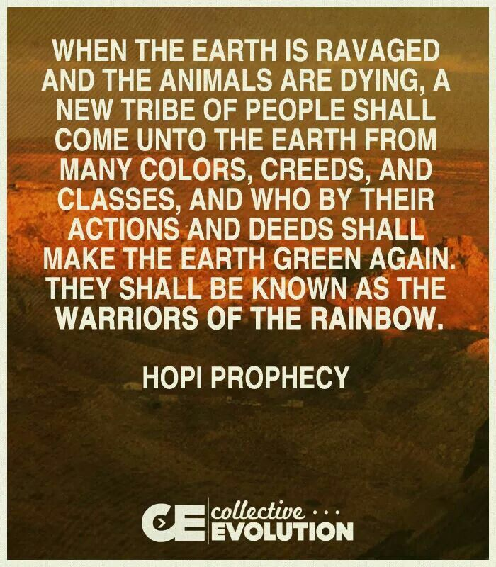Warriors Of The Rainbow Tribe: Warriors Of The Rainbow - Hopi Prophecy