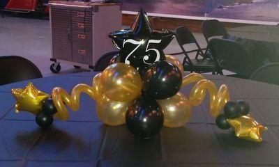 Adult Birthday Party Balloon Decor Tulsa OK Balloon Ideas