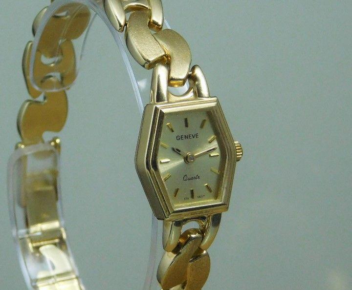 a620e766458b Magnifico reloj joya-geneve de oro macizo de 18k - peso  22