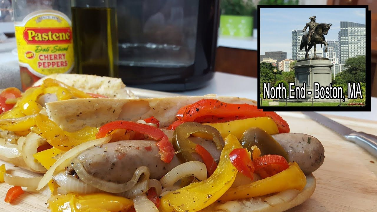"""Sausage Peppers & Onions Recipe using the """"POWER AIR FRYER"""