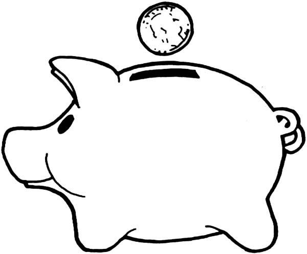 Piggy Bank Coloring Pages Enjoy Coloring Piggy Bank Super Coloring Pages Coloring Pages