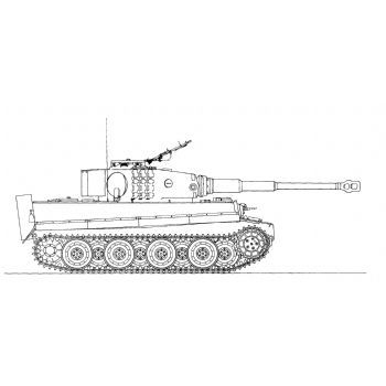 Ml119 Panzerkampfwagen Tiger Ausf E With Snorkel Tanks