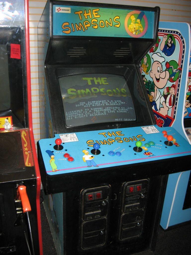 Simpson S Arcade Game Arcade Games Arcade The Simpsons Arcade Game