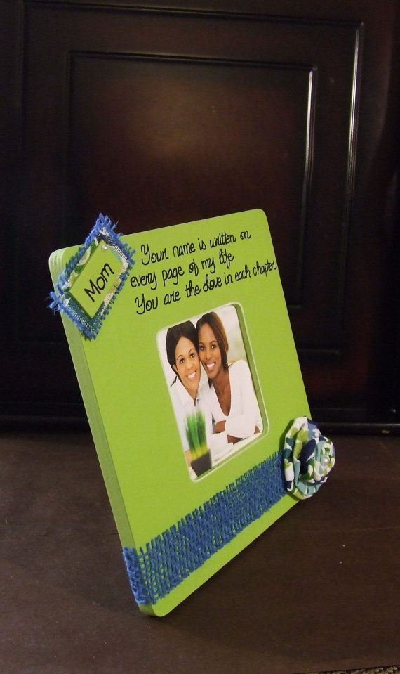 Personalized frames for Mom Mother Mommy Gifts for Mom Birthday Gift ...