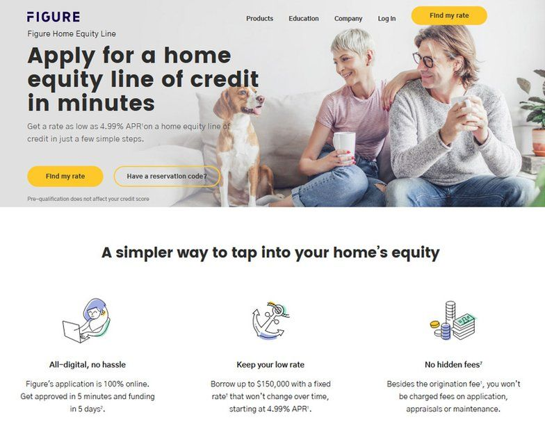 Figure home equity line online home equity lines of