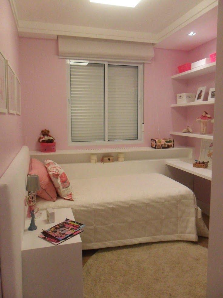 Decora o 10 quartos planejados para meninas as for Dormitorio 3x3