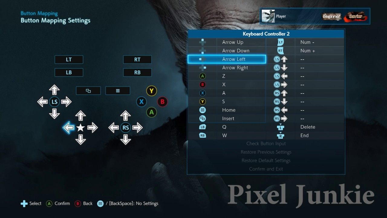 How to Setup Keyboard Controls for Tekken 7 on PC | Pixel