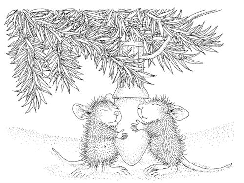 house mouse designs coloring pages - photo#13