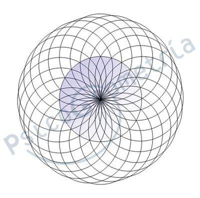 Geometria Sagrada Y Trazos Estrella Madre Y Fruto De La Vida2 Jpg 400 395 Vector Drawing Sacred Geometry Mandala