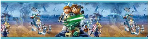 Best Lego Star Wars Wallpaper Border Amazon Co Uk Diy Tools 400 x 300
