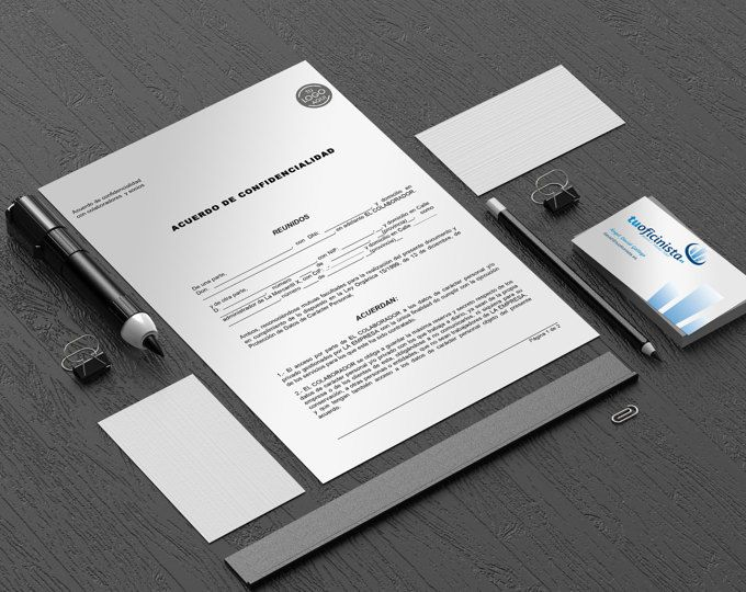 Confidentiality Agreement Template  Commercial Property