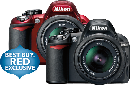 Best Buy Latest Deals - NOVEMBER 18-24, 2012 - Nikon - D3100 14.2-Megapixel Digital SLR Camera - Black