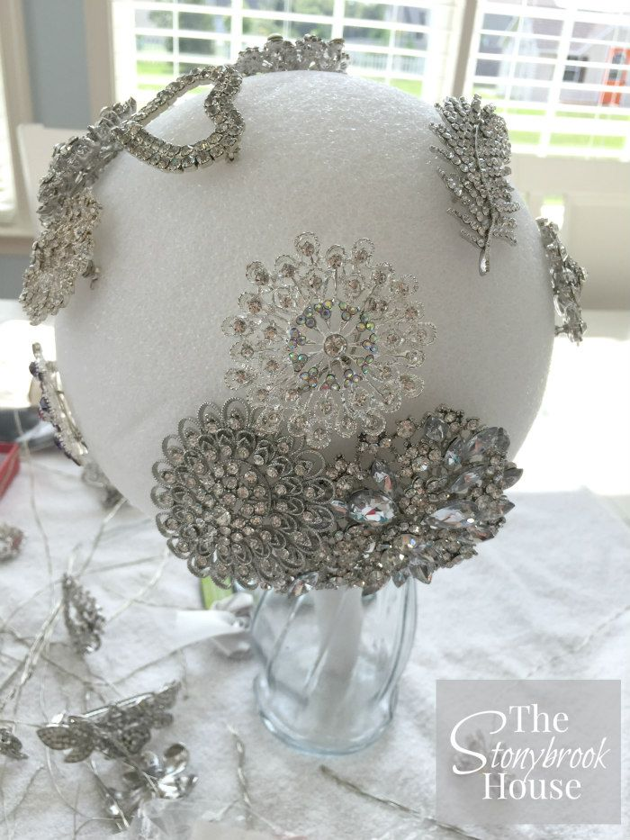 How To Make A Beautiful Brooch Bouquet Wedding Brooch Bouquets