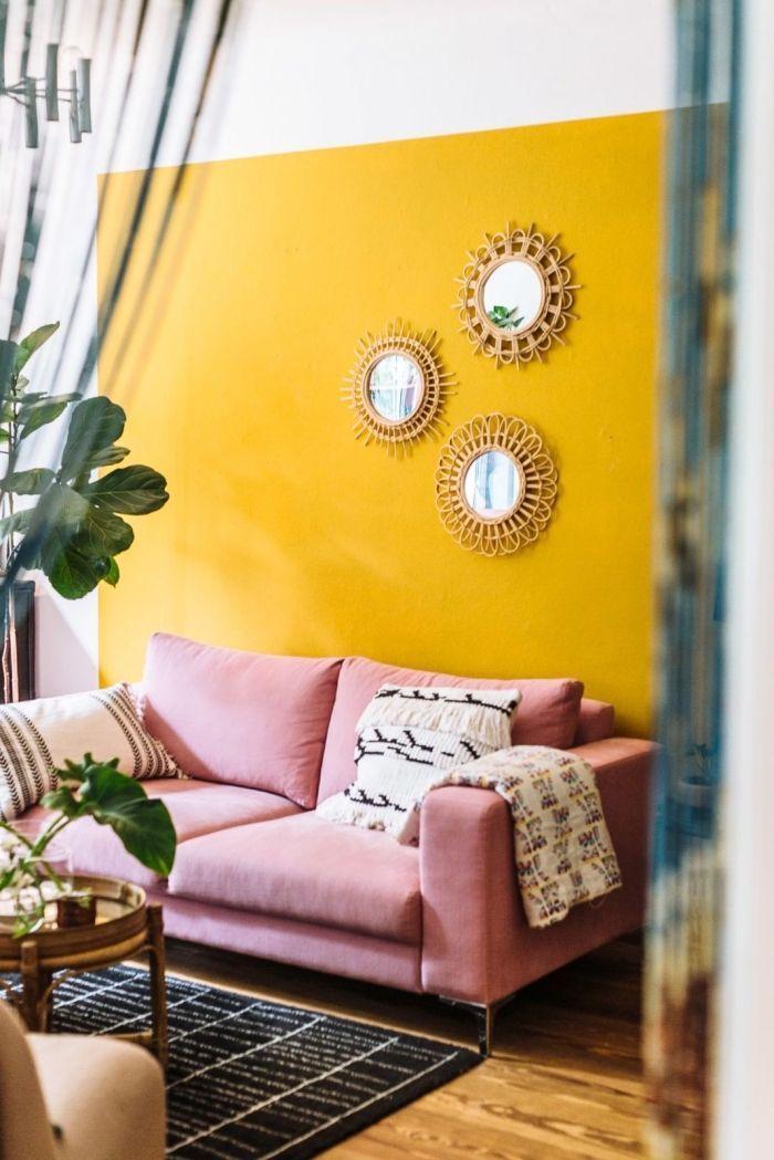 1001 + secrets pour réussir la déco jaune moutarde   Home ...