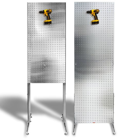 PegBoard Freestanding featured in both 2x6 and 2x4 Sizes Diamond Life Gear