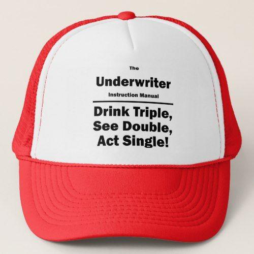 Underwriter Trucker Hat  Trucker Hats