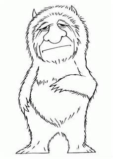 Where The Wild Things Are Coloring Pages Bing Images Party