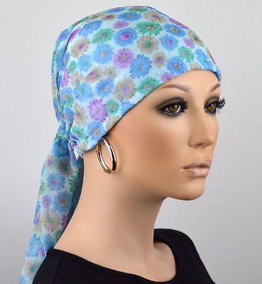 Leichte Kopftuch Mütze Damen Chemo Tuchmütze Turban Tuch Chemomütze ...