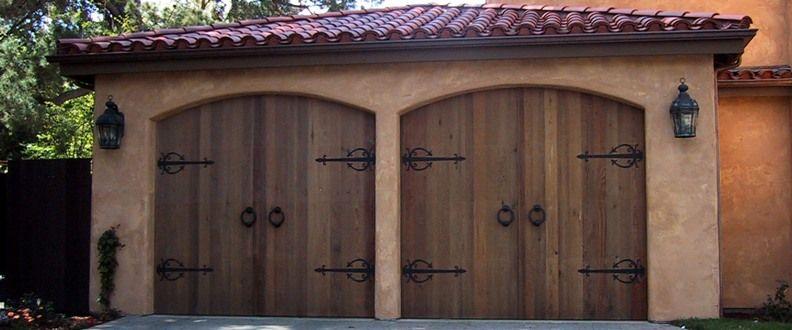 Wood Door Elevation : Wood garage doors a door is