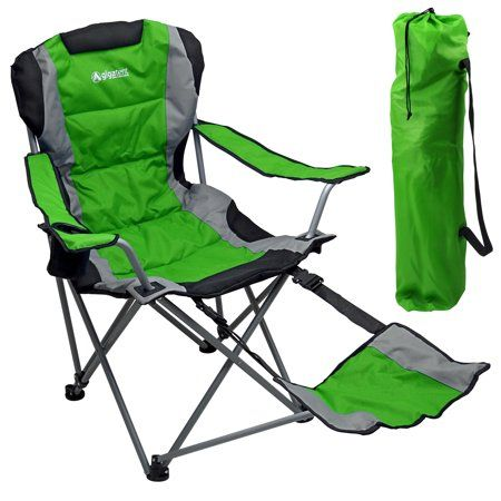 Outdoor Quad Camping Chair Lightweight Portable Folding
