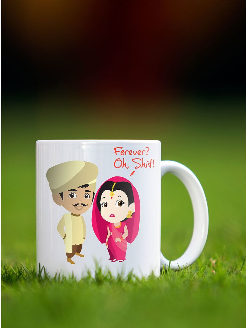 Indian Wedding Gifts Quirky And Sarcasm Cute Mug For Your Better Half