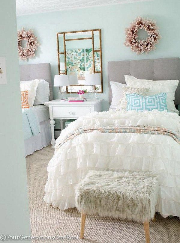 40+ Beautiful Teenage Girls' Bedroom Designs images