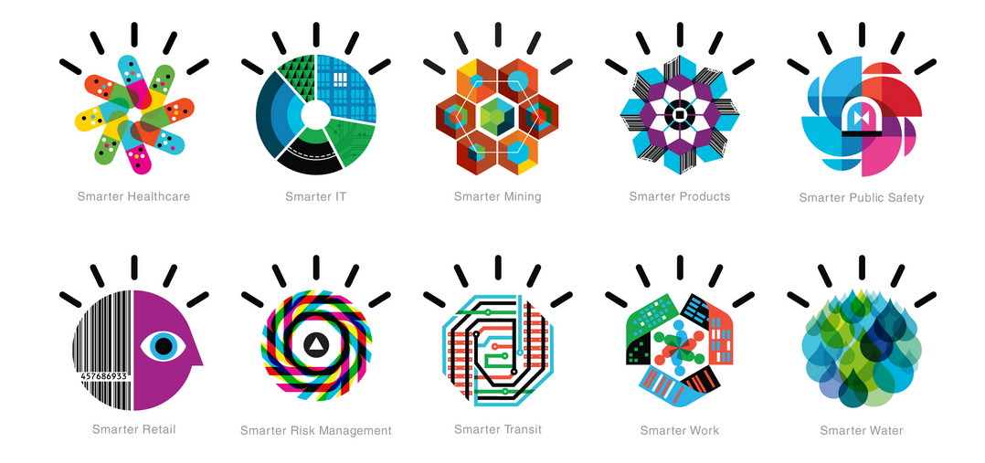 Visual language for IBM by Office Iconography, Risk
