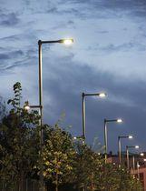 Poste de iluminación moderno (LED)