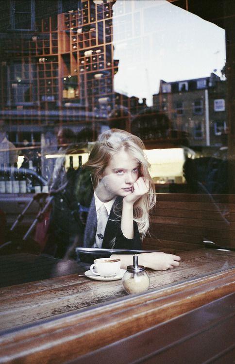 Charlie. Cafe life.