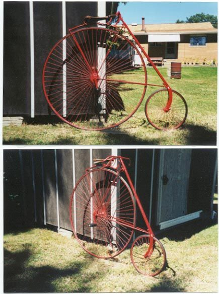 """1889 Eagle with 52"""" front wheel"""
