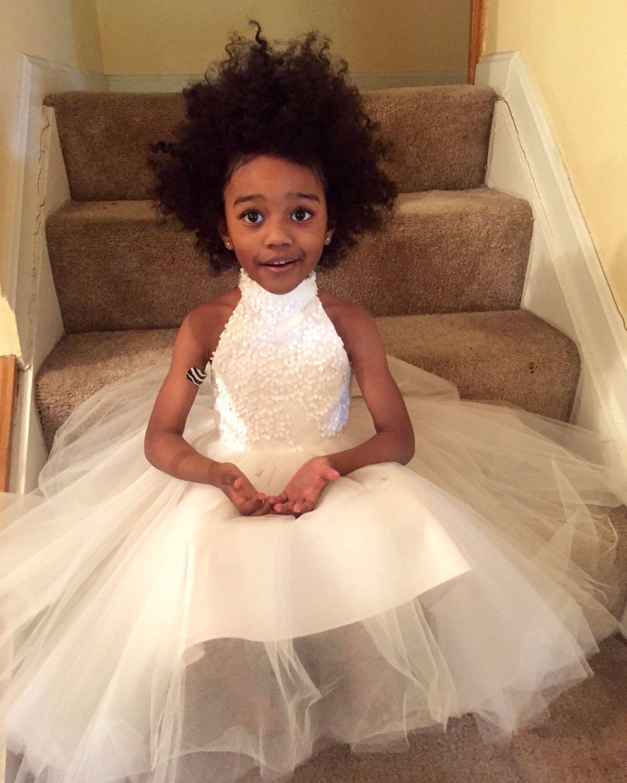 Children Wedding Hair Style: Kingdayanna: Ig: @ryenniman_nutter