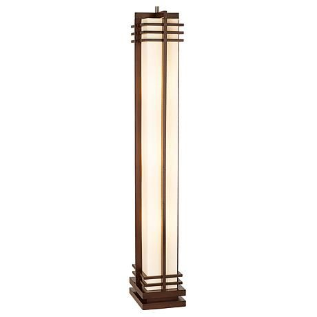 Possini Euro Design Deco Style Column Floor Lamp 48254 Lamps Plus Dieselpunk Amp Decopunk