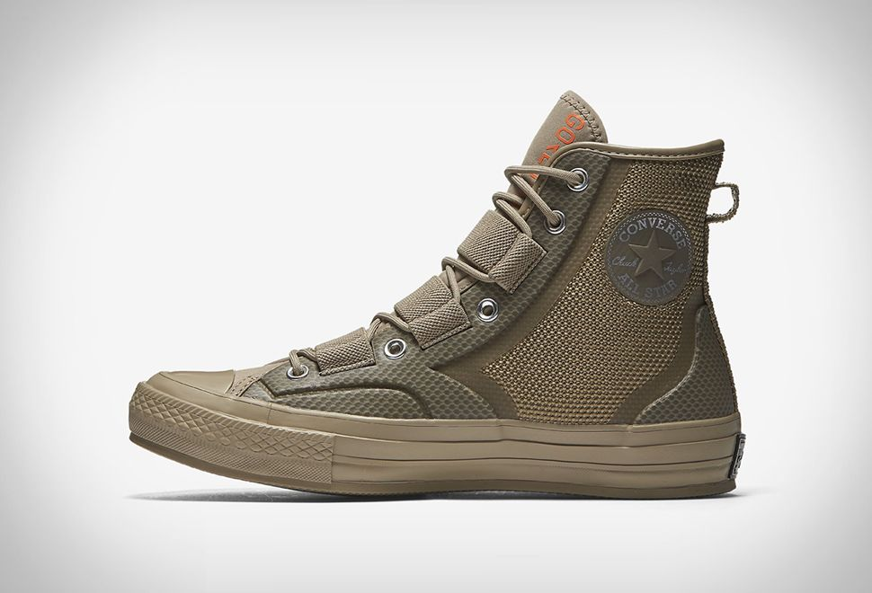 Converse's Waterproof 'Urban Utility' Shoes Will Keep Your
