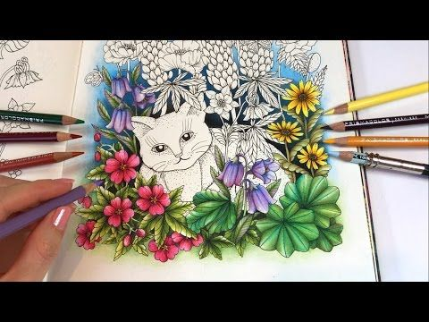 Magical Garden Part 1 Twilight Garden Blomstermandala Coloring Book Youtube Flower Coloring Pages Mandala Coloring Books Coloring Pages