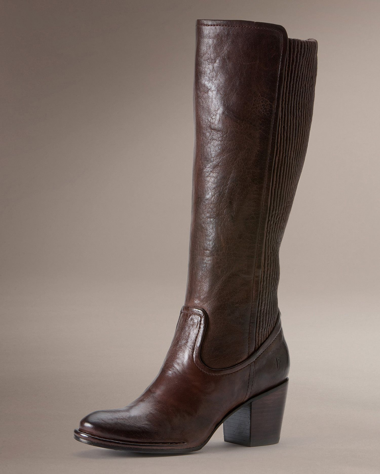 Lucinda Scrunch | Boots, Frye leather