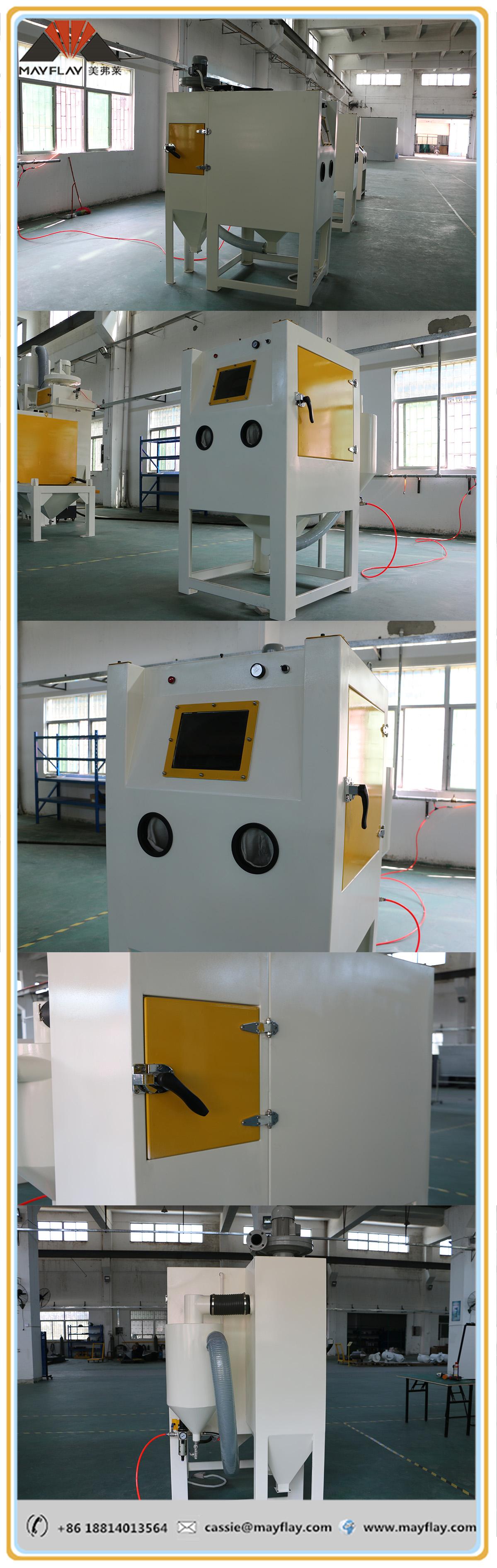sand blasting machine for all metals