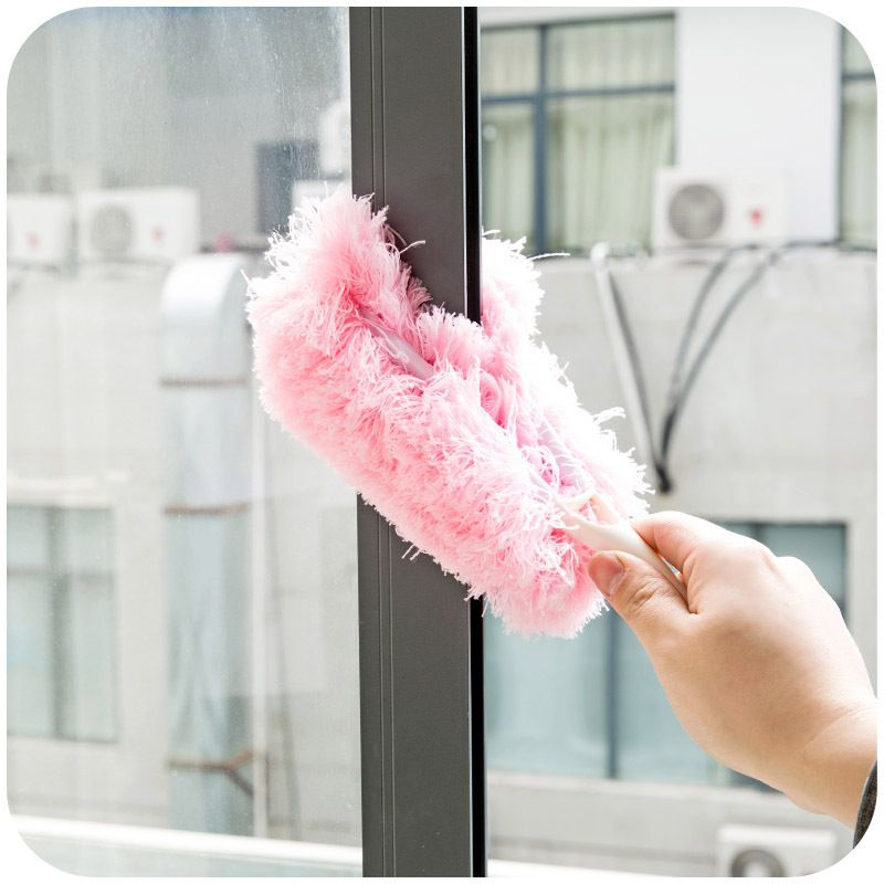 Japanese Style Y Household Duster, Car Duster Dusting Furniture Feather  Duster To Remove
