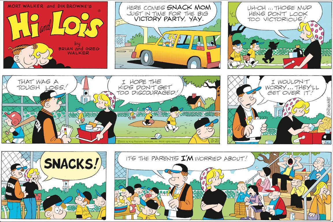 Tegneserier Hej Og Lois Hi Og Lois søndag Side 21. maj-8625