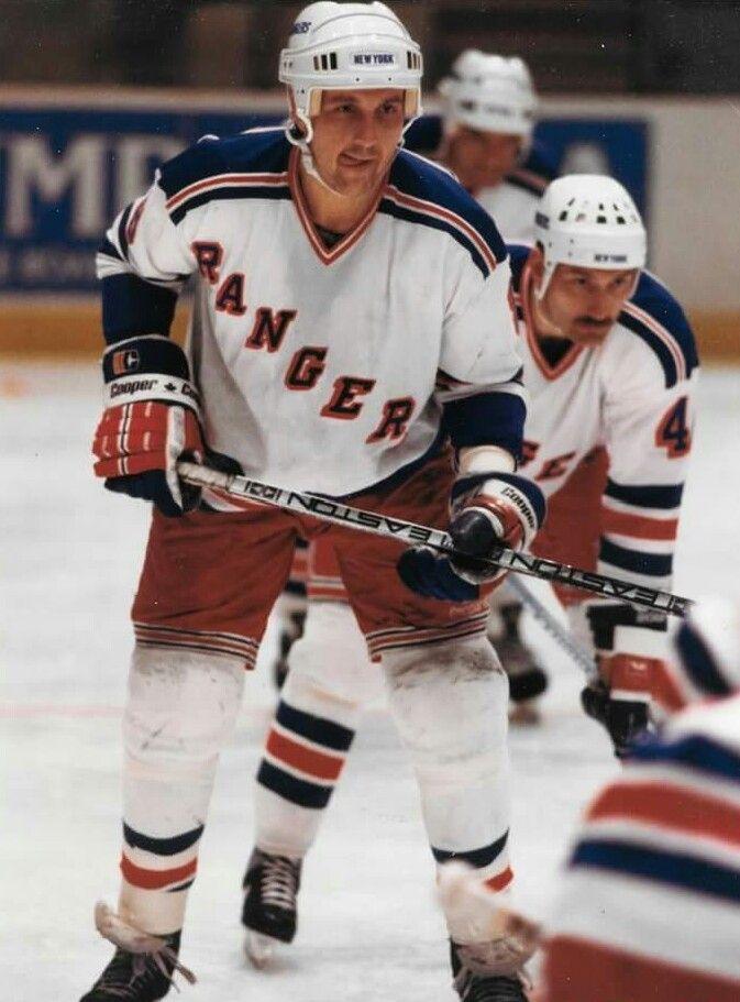 Walt Poddubny New York Rangers New York Rangers Nhl Rangers
