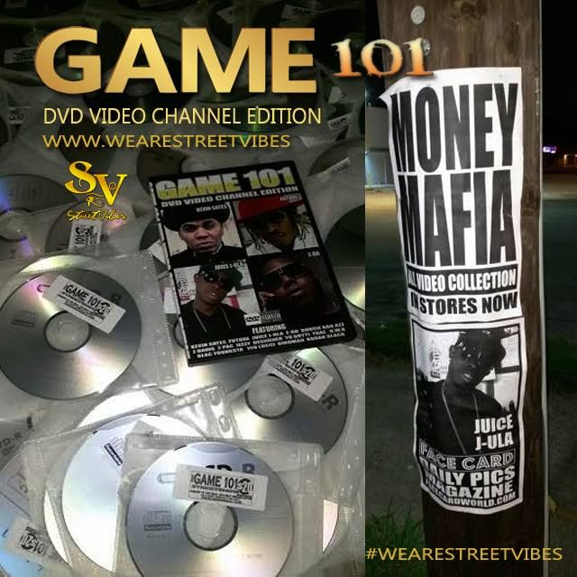 GAME 101 !! DVD VIDEO CHANNEL EDITION!! #juicejula #wearethestreets #wearestreetvibes #streetvibes  #get #buy #order www.wearestreetvibes.com
