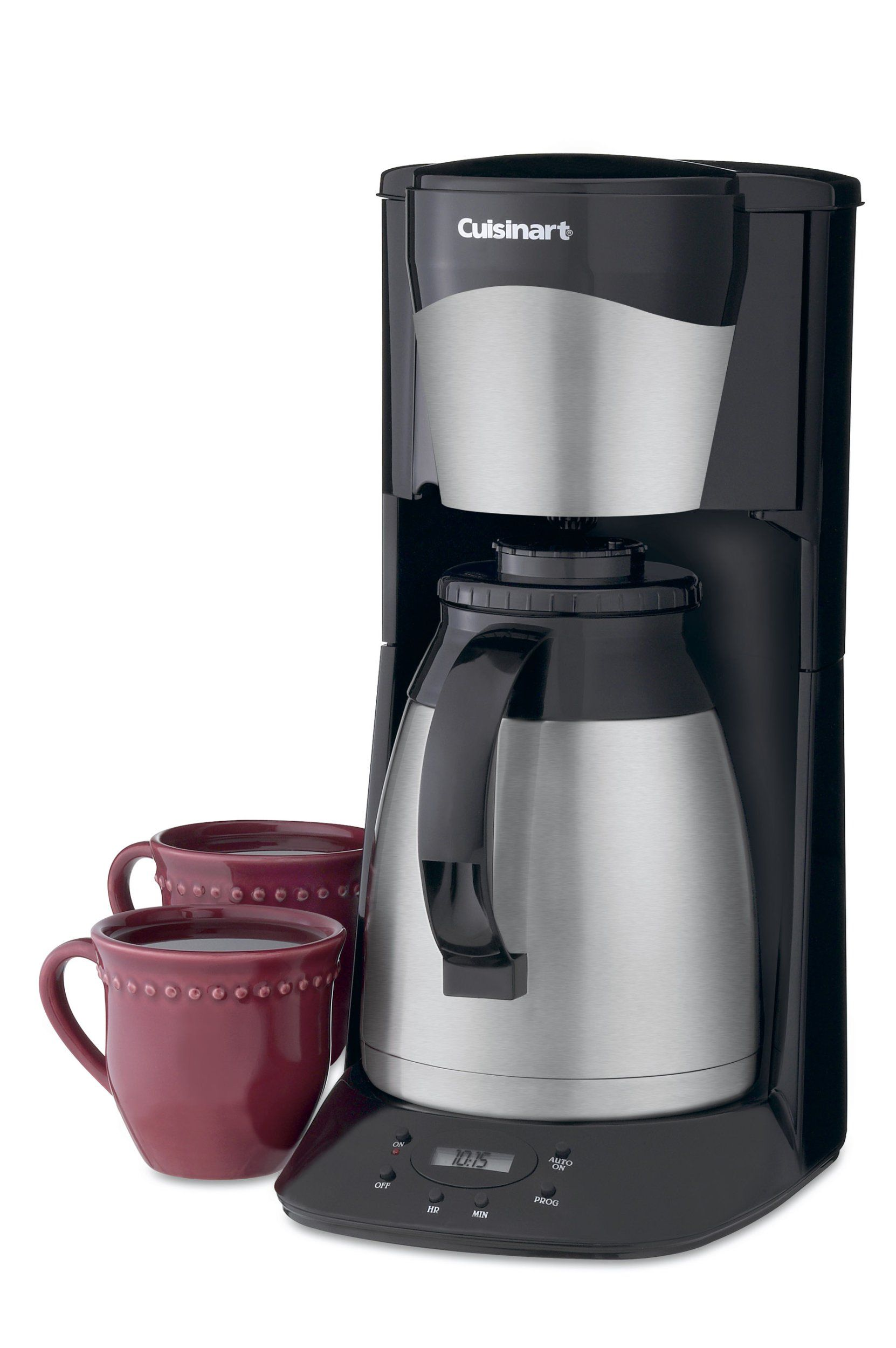 Cuisinart dtcbkn cup programmable thermal brewer black read