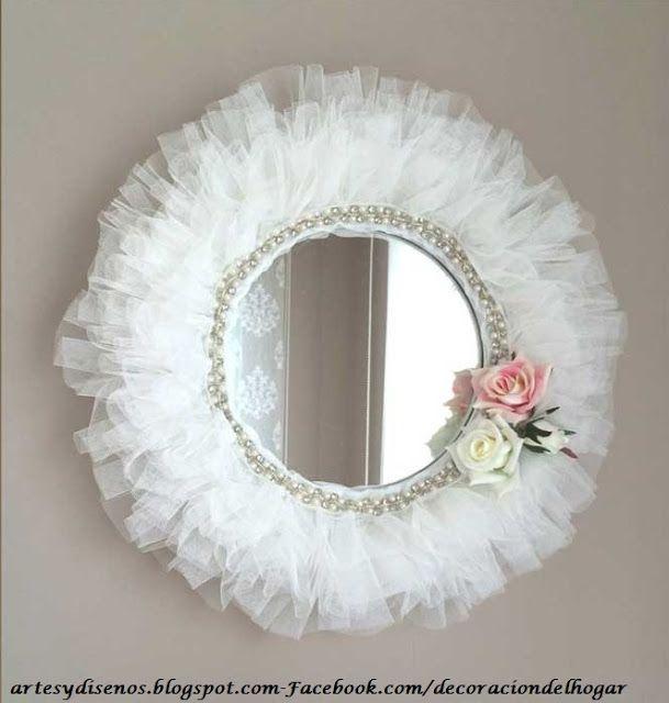 Ideas para decorar con espejos by - Espejos para manualidades ...
