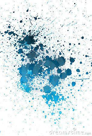 Sprayed Blue Paint Watercolor Splash Watercolor Splash Png Painting