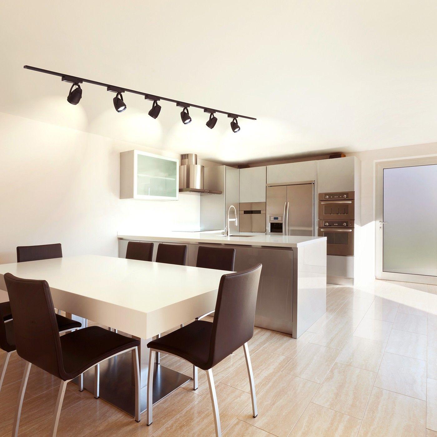 Uncategorized Office Track Lighting wilsons office 2x a150 black six light 12w led track kit kit