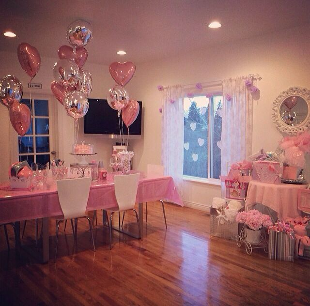 Pink And Silver Baby Shower My Photos Pinterest