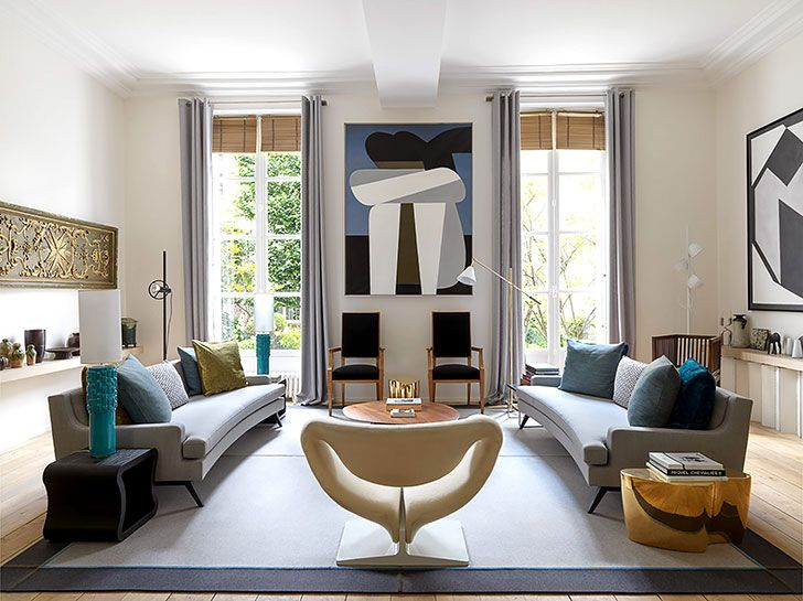 Design Living Room Online Stunning Paris Residence Of A Designer  Interiors Online